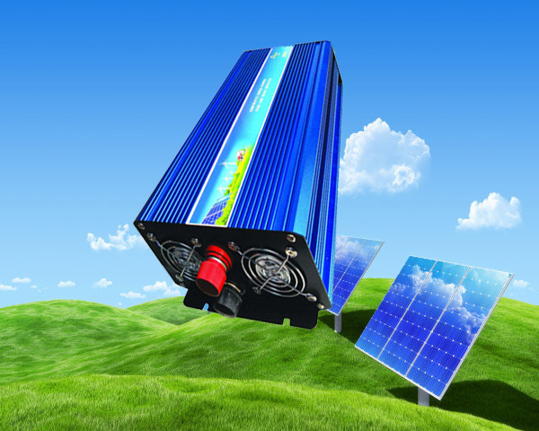 2500W Pure Sine Wave Inverter DC to AC Power Inverters, 5000 Watt Peak Power, Off Grid Wind Solar System Inverter