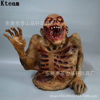 New Halloween Scary Party Scene Props Bloody Broken Body Cobweb Screaming wave Horror Halloween Decoration For Bar Haunted House