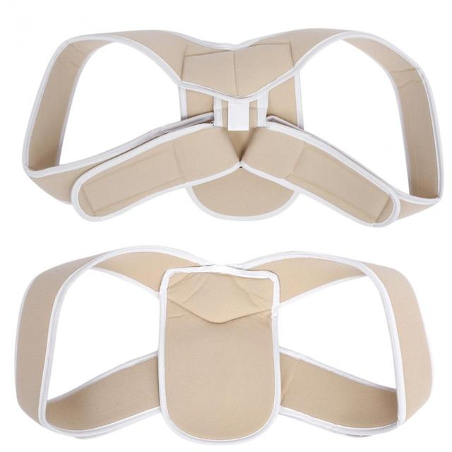 Adjustable Upper Back Shoulder Support Posture Corrector Adult Children Corset Spine Brace Back Belt Orthotics Back Support