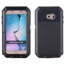 Lihnel для Samsung Galaxy S6 1:1 doom Броня грязи Водонепроницаемый противоударный алюминиевый Gorilla металла влияние чехол для Samsung Galaxy S6