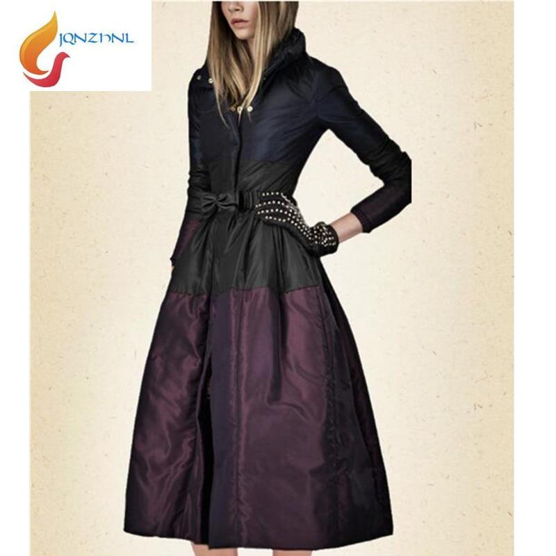 Plus Chaud Ad177 De 2018 Le Vers Couture Gamme Long La rembourré 3xl Taille Nouvelles Haut Purple black Femmes Coton Jqnzhnl Manteaux Bas Vestes D'hiver w1q5O8U