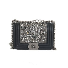 Diamond Lattice Luxury Handbags Women Bags Designer Lady Quilted Plaid Shoulder Crossbody Bags Leather Women Messenger