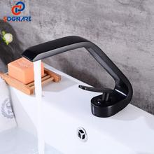 цена на Bathroom Faucet Cold Hot Water Taps Deck Mounted Bathroom Basin Water Sink Mixer Brass Bath Mixer Tap Torneira Para Banheiro