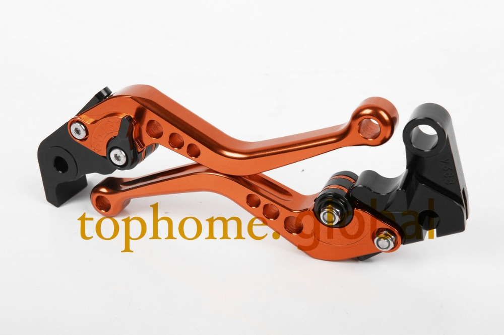Orange Motorcycle Accessories For Moto guzzi BREVA 1100 2006-2012 2009 2010 2011 Handlebar CNC Clutch Brake Levers Short adjustable cnc aluminum clutch brake levers with regulators for moto guzzi breva 1100 2006 2012 1200 sport 07 08 09 10 11 12 13