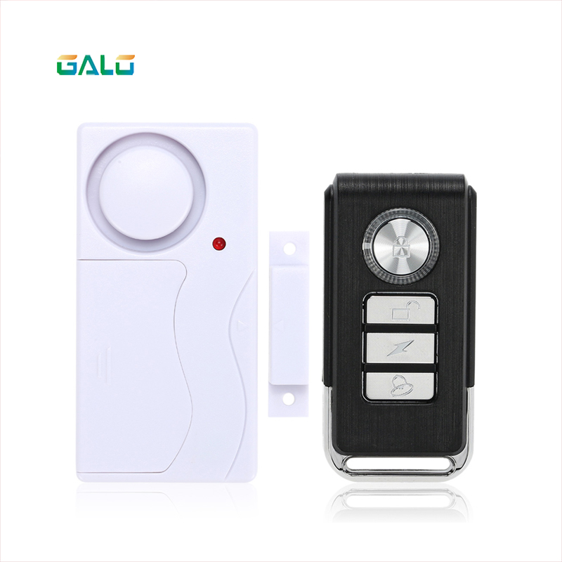 GALO Arrival Wireless Magnetic Window Door Sensor Detector Remote Control Entry Detector Anti-Theft Home Security Alarm System