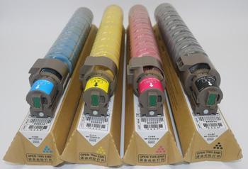 1sets Compatible color Toner Cartridge For RICOH Aficio MPC305spf c406zsp c306 laser printer copier