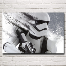 FOOCAME Star Wars The Force Awakens Movie Art Silk Print Poster Home Decor Pictures 12x18 16X24 20x30 24x36 32x48 Inches