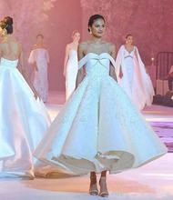 Бальное платье белое для выпускного вечера женское с открытыми