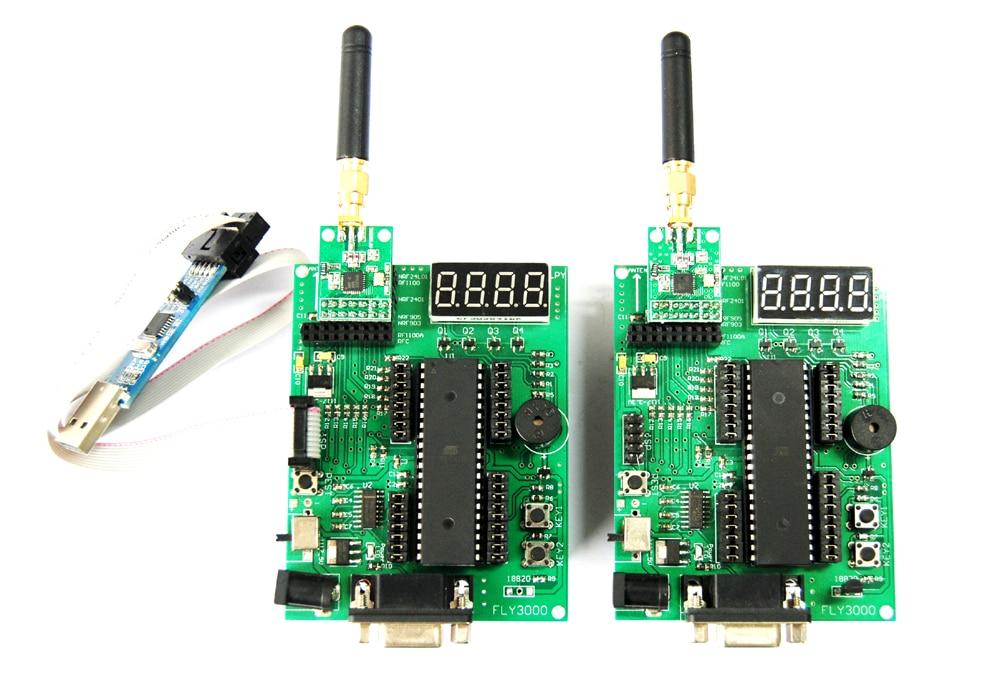 AVR wireless development board /MEGA16 development board (nRF905/nRF24L01/CC1101/Si4432) an incremental graft parsing based program development environment
