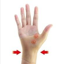 Магнитная терапия наручные перчатки теносиновит облегчение боли запястья рук большого пальца Поддержка Перчатки, поддержка запястья Брекеты для мужчин и женщин