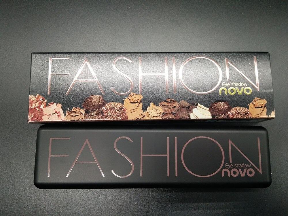 2PCS Novo Makeup eyeshaow Palette shimmer BASICS Natural earth color nude eyeshadow pallete Makeup Shimmer Matte Eyeshadow BN010