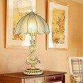 Европейский Стиль Крытый Освещения Старинные Deskled Настольная Лампа 240 В Переключатель Гостиная Спальня Кабинет E27 15 Вт Чтения кровать Свет