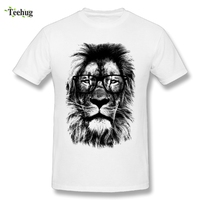 Cool Male The King Lion T Shirts Men Awesome 3D Print Graphic Homme Tee Shirts Fashion