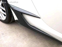 Real Carbon Fiber/primer unpainted FRP car body Side Skirts air diffuser For Toyota FT86 GT86 SCION FR S SUBARU BRZ