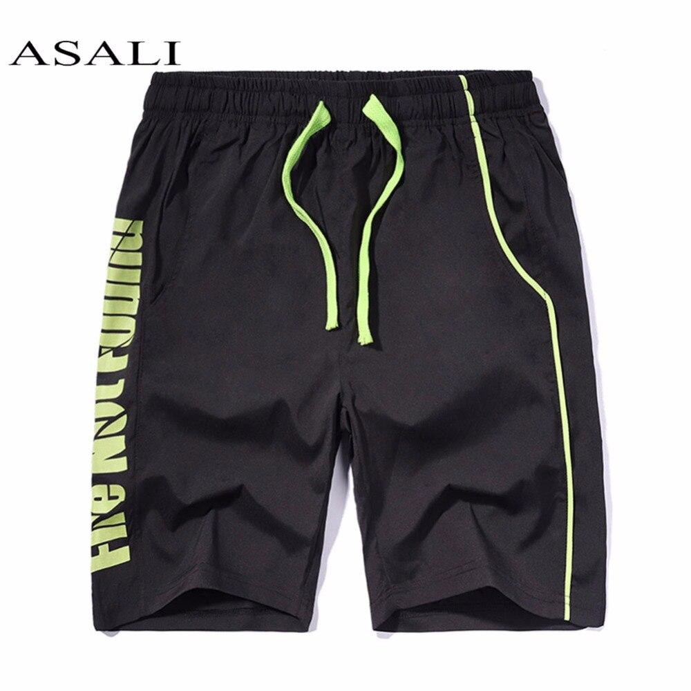 ASALI Mens Swimwear Quick Dry Short Pant 2019 Summer Unisex Surf Sports Beach Board Shorts Trunks Loose Cotton Pant Trousers