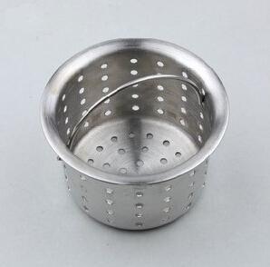 Free shipping stainless steel kitchen sink basket, sink strainer, kitchen sink accessory