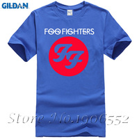 Free Shipping FF Foo Fighters Leisure Cotton Short Sleeve T Shirt Euro Size O Neck T
