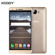 Auf Lager XGODY X11 3G Entsperrt Android Handy 5 Zoll MTK6580 Quad Core 1G + 8G Front-5MP Smartphone Handy 2000 mAh