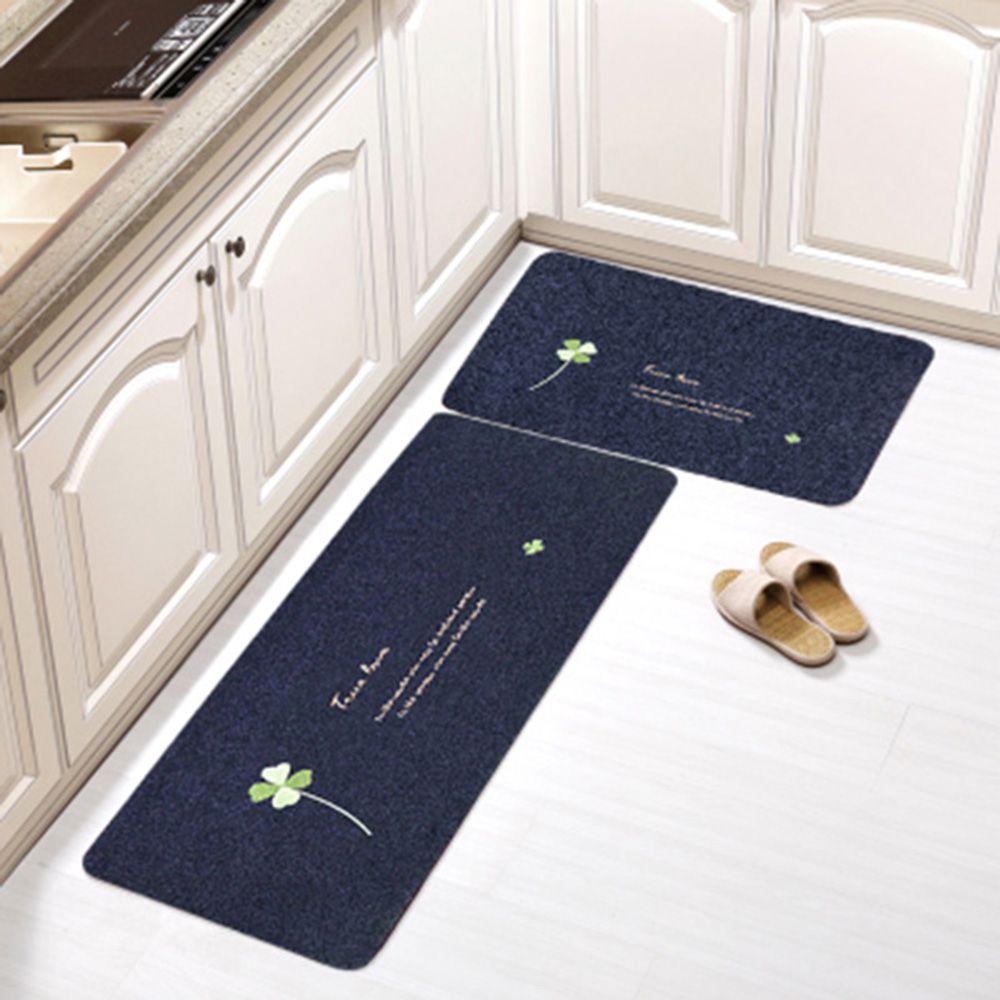 Hot Non Slip Kitchen Mat Rubber Backing Doormat Runner Rug