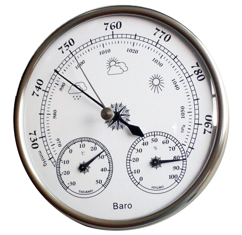 Free Shipping Hotsale High Accuracy Household Weather Station Barometer Thermometer Hygrometer Wall Hanging Tester Tool free shipping high quality sauna accessory cartoon design sauna equipment thermometer hygrometer