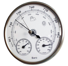 Buy Free Shipping Hotsale High Accuracy Household Weather Station Barometer Thermometer Hygrometer Wall Hanging Tester Tool