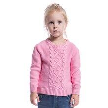 Детские девушки свитер классическая детская одежда пуловер 100% хлопок хорошее качество дна рубашки