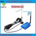 Mais novo Mini GSM 900 Mhz Mobile Phone Signal Booster, GSM Repetidor de Sinal, Telefone celular Amplificador de Sinal + antena interior e exterior