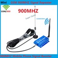 Newest Mini GSM 900Mhz Mobile Phone Signal Booster , GSM Signal Repeater , Cell Phone Signal Amplifier + outdoor indoor antenna