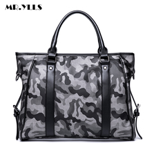 MR.YLLS Men Camouflage Handbag Fashion Business Shoulder Bag Work Laptop Messenger Bags Male Vintage Crossbody Bags