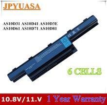 7XINbox AS10D31 AS10D41 AS10D51 AS10D61 Bateria Do Portátil Para Acer Aspire 4551 4741 4741g 5741 4250G D442 D520 MS2305 D440 D443