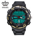 SMAEL Men Leisure Electronic Watch Fashion Stop Watch Sport LED Swim Waterproof Outdoor Multifunction Outdoor 1361