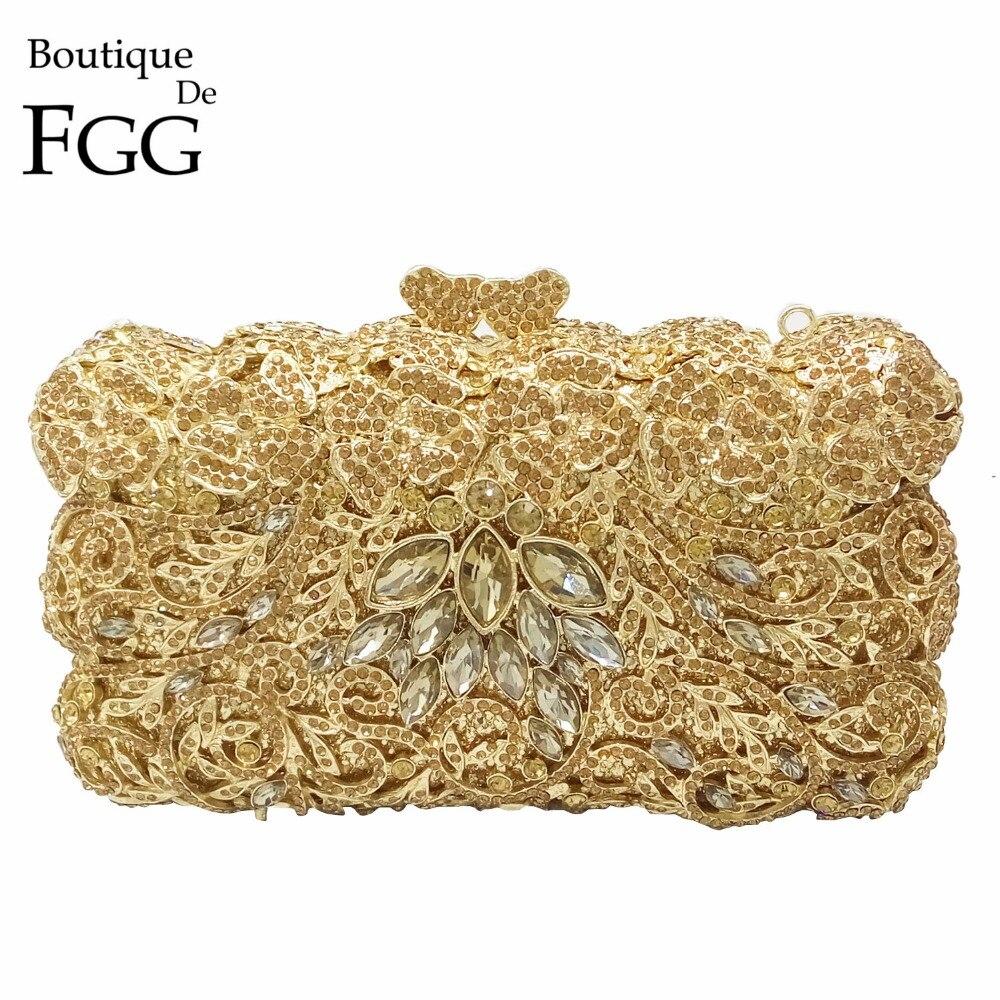 ФОТО Dazzling Famous Brand Designer Women Gold Crystal Evening Clutch Bag Bridal Metal Box Hard Case Wedding Shoulder Handbags Purses