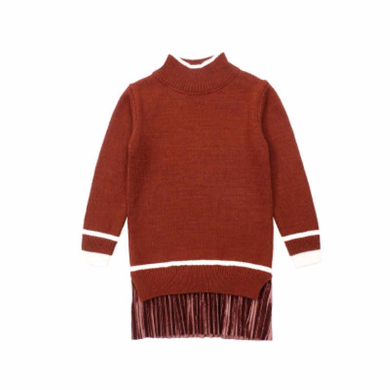Свитера для девочек, Осень-зима 2018, Детский кардиган, желтый, коричневый, зеленый, черный, толстые теплые детские свитера, новая модная одежда для детей от 3 до 11 лет
