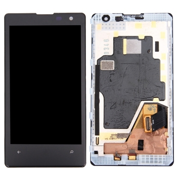 High Quality LCD Screen and Digitizer Full Assembly Lcd Replacement Glass with Frame For Nokia Lumia 1020
