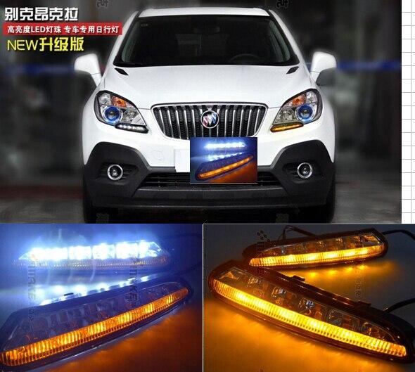 OsMrk drl LED Daytime Running Light for OPEL MOKKA LED drl 13' 14,SIGNAL FOGLAMP, led daytime driving light