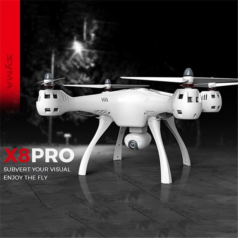 SYMA X8 PRO hd profissional camera wifi fpv quadcopter Drones com camera GPS drone color packet