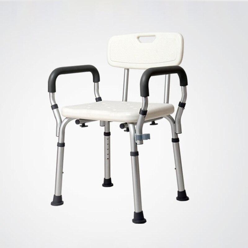 Erwachsene Bad Bänke Für Alte Kommode Töpfchen Stuhl Mit Wc Sitz Und Armlehne Und Ein Langes Leben Haben.