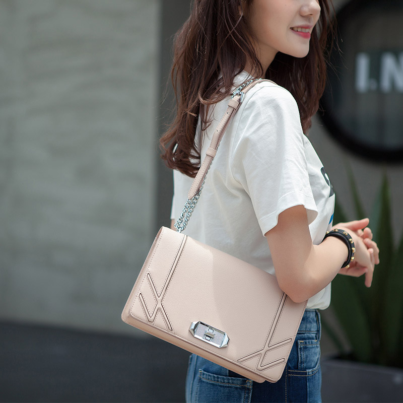KZNI Genuine Leather Handbag Women Phone Bag Leather for Women Bag Quality Designer Handbags High Quality Bolsas Feminina 9017 kzni genuine leather handbag women designer handbags high quality phone bag purses and handbags pochette sac a main femme 9022