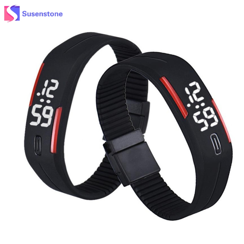 Hot Sale Watch Men Silicone Rubber Strap LED Digital Watch Date Time Clock Army Sports Bracelet Wrist Sport Watches for men  Скульптура