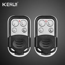 KERUI RC528 металлический портативный пульт дистанционного управления 433 МГц, аксессуары для сигнализации, пульт управления для домашней системы безопасности, сенсорная клавиатура