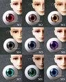1 пара BJD эстетическое акриловые свет глазное яблоко для 1/3 1/4 1/6 BJD кукла DIY 8 - 26 мм