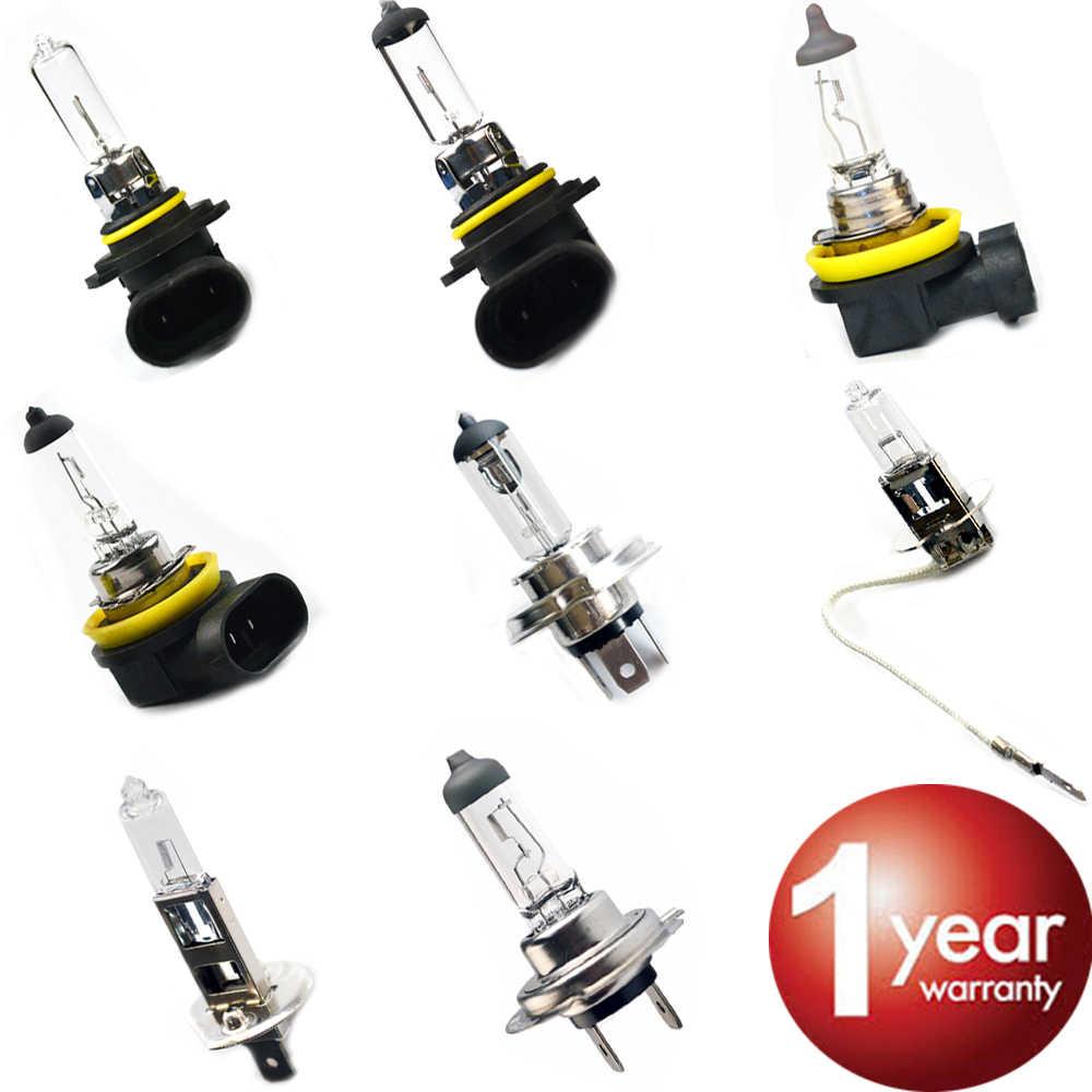 hippcron Car Halogen Bulb 12V 35W 55W 60W Clear 1 PCS H1 H3 H4 H7 H8 H11 9005 HB3 9006 HB4 Car Headlight Lamp