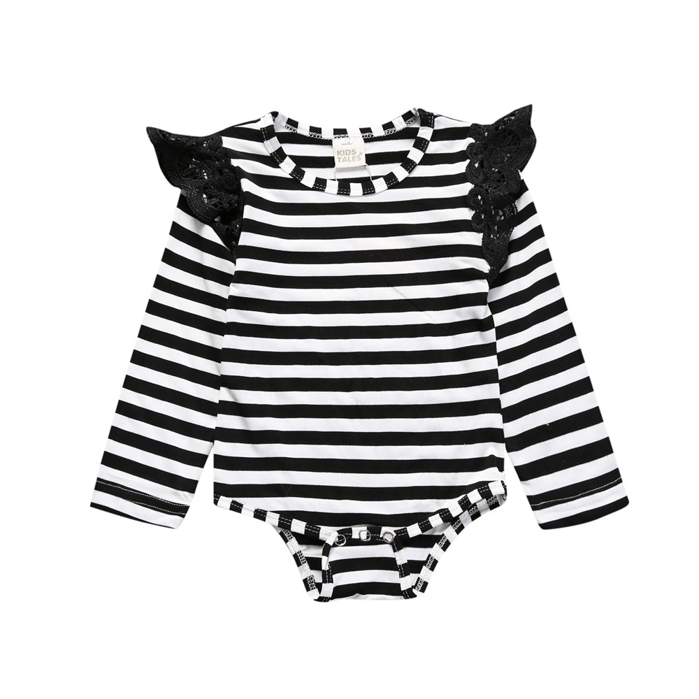 Toddler Baby Girls Bodysuit Short-Sleeve Onesie Live Your Dreams Print Outfit Summer Pajamas