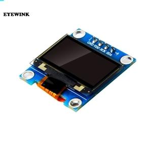 "Image 2 - 10 stks/partij Blauw of wit 128X64 0.96 inch OLED LCD LED Display Module Voor Arduino 0.96 ""IIC SPI Communiceren 3.3 V 5 V"