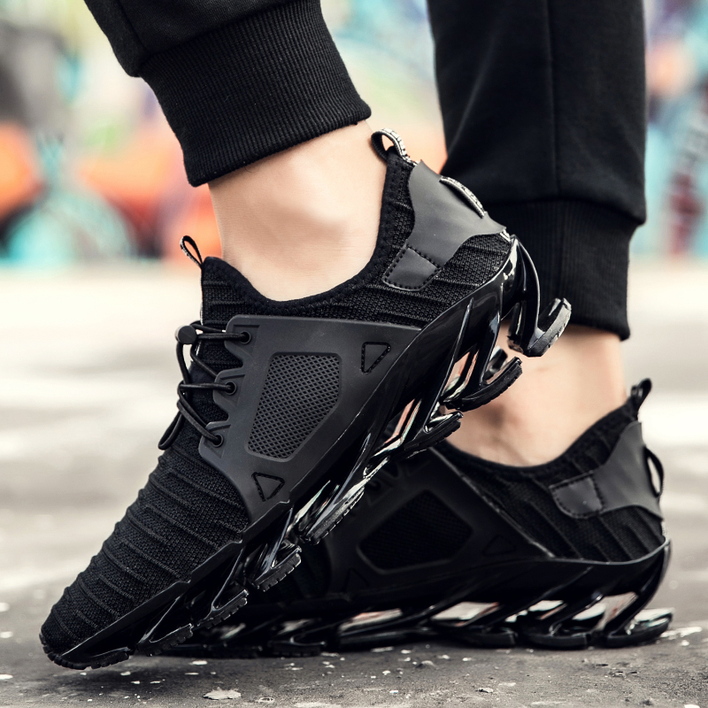 Outdoor Sports Shoes Design Blade Men Running Shoes Men Sneakers Breathable Cushioning Sneakers Men Athletic Shoes New Size39-44 ...