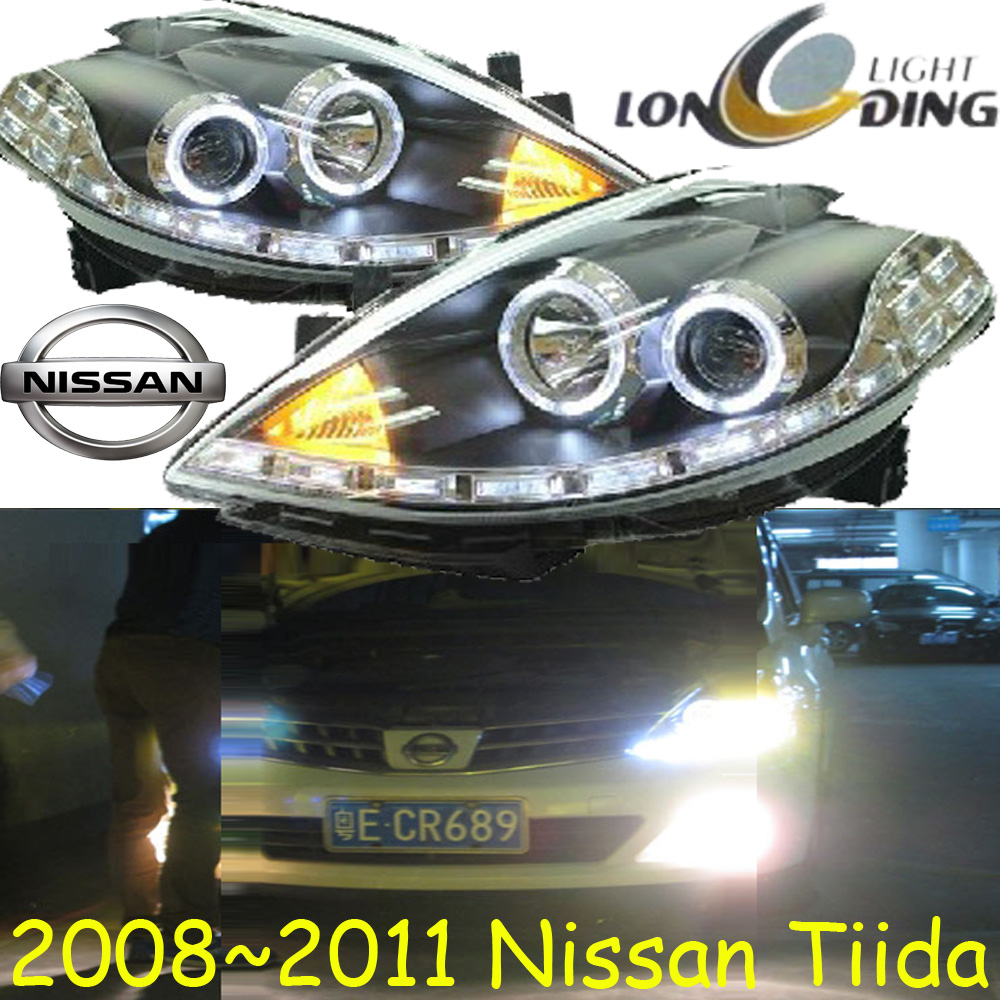 Tiida headlight,2009~2011,Free ship! Tiida fog light,teana,qashqai, sylphy,Tiida,almera,altima,altra,sprio,cabstar teana fog light 2pcs set led sylphy daytime light free ship livina fog light