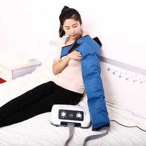 Image 3 - Air Pressure Machine Whole Body Massager Release Edema Varicosity Myophagism Waist Leg Arm Relax Instrument