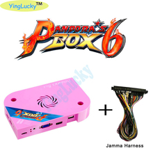 Original Pandora Box 6s 1300in 1 Jamma Arcade Version Output jamma arcade Version pcb game board CGA VGA HDMI output CRT HD 720p