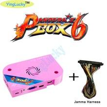 Orijinal Pandora Kutusu 6 s 1300in 1 Jamma Arcade Sürümü Çıkış jamma arcade Sürümü pcb oyun tahtası CGA VGA HDMI çıkış CRT HD 720 p