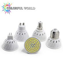 Super Bright GU10 MR16 E14 E27 LED Spotlight 220V 230V 240V Led Lamp Light Base Lampada LED Bulbs for Home Chandelier